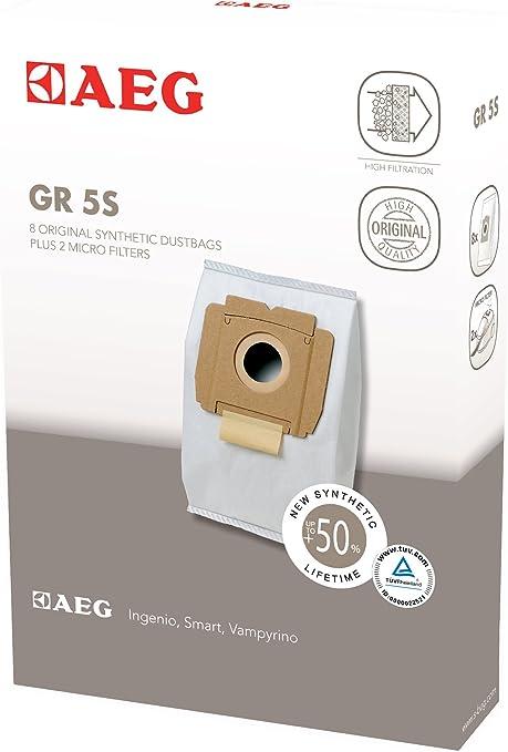 AEG GR 5S Compatible gama Vampyrino, pack 8 bolsas y 2 ...