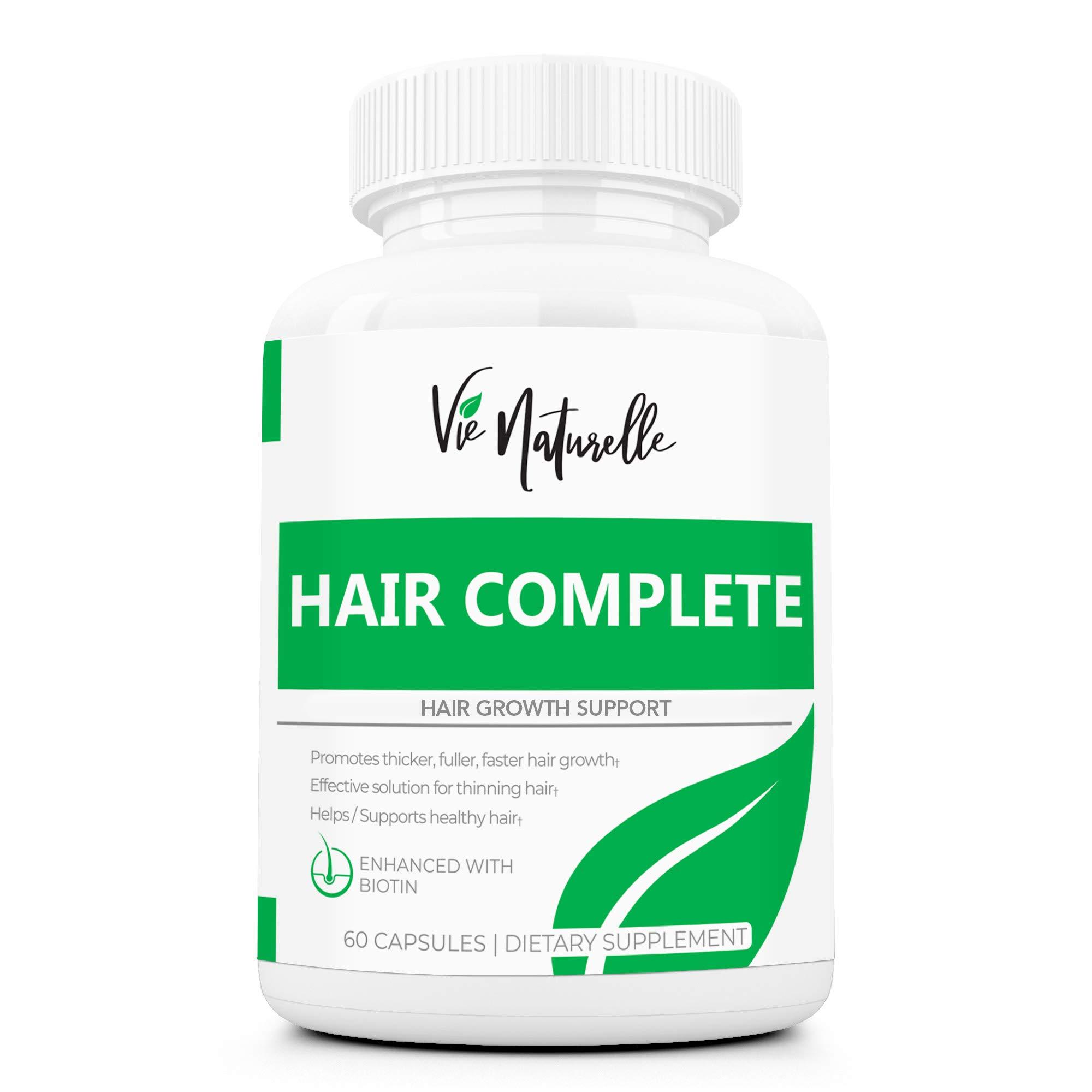 DHT Blocker Pills & Hair Supplement - Hair Growth Vitamins for Women & Men - Hair Loss Treatments for Women with Saw Palmetto