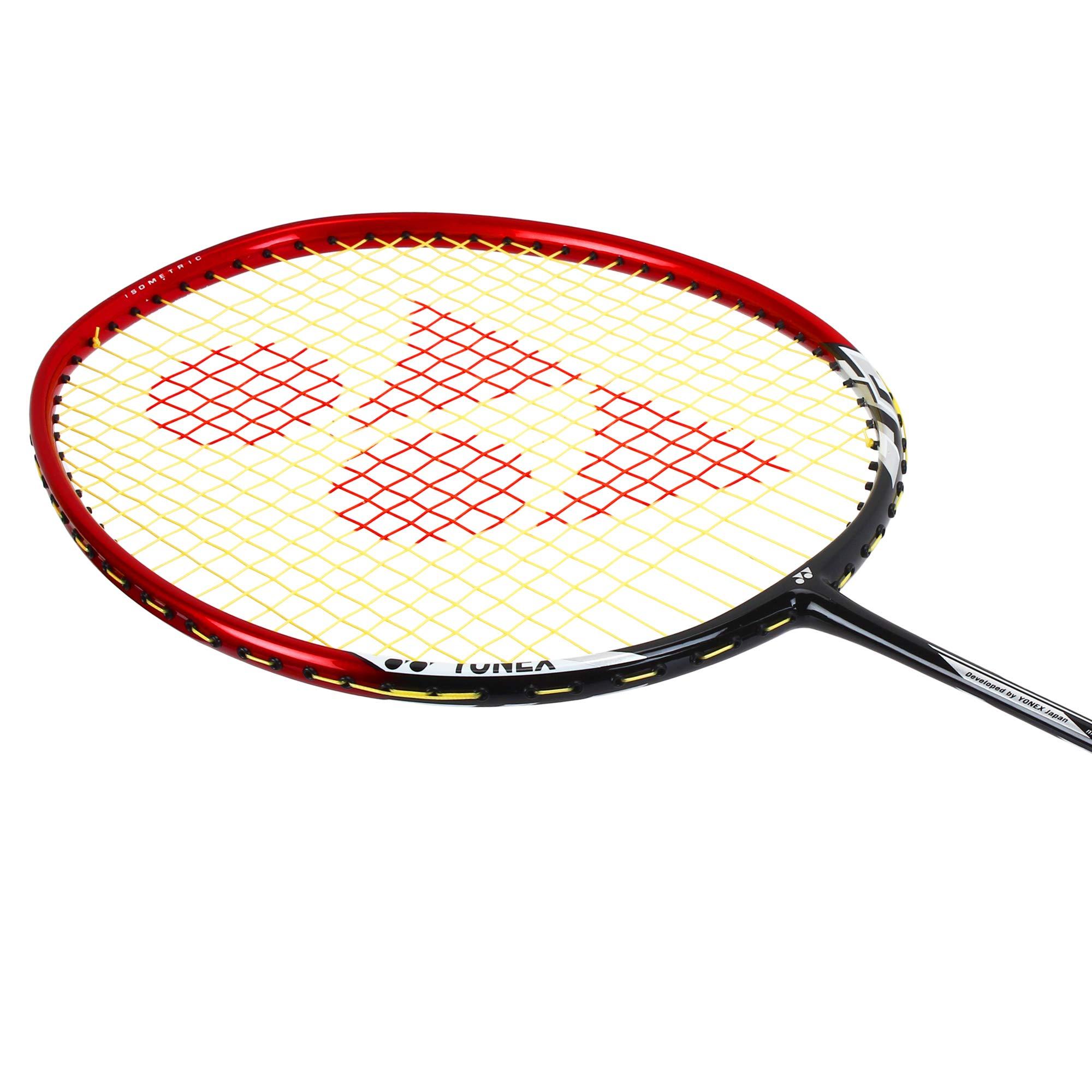 Yonex Nanoray 6000I G4-U Badminton Racquet Red by Yonex (Image #4)