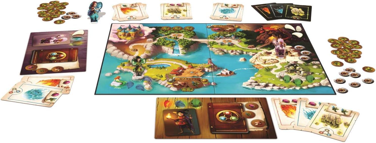 Jumbo Isidore School of Magic Niños Viajes/Aventuras - Juego de Tablero (Viajes/Aventuras, Niños, 30 min, Niño/niña, 6 año(s), 99 año(s)): Amazon.es: Juguetes y juegos
