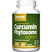 Jarrow Formulas Curcumin Phytosome, Promotes Joint Nutrition, 500 mg, 60 Capsules