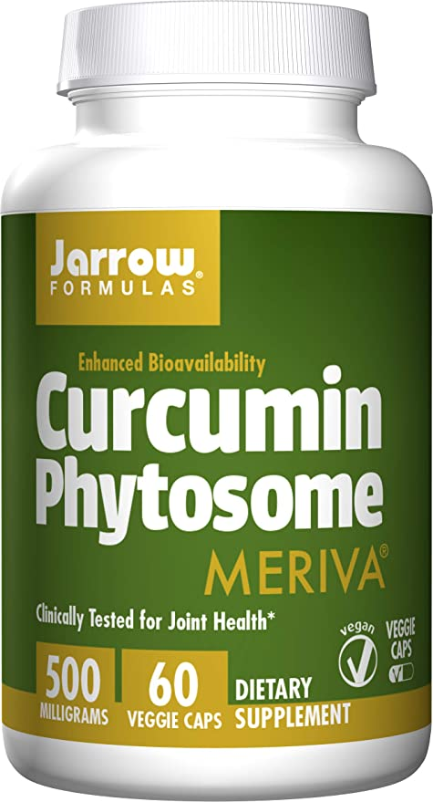 La curcumina Phytosome, 500 mg, 60 Caps Veggie - Jarrow Formulas