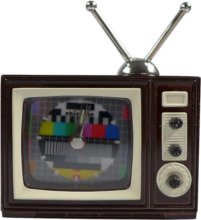 Reloj Miniatura – Televisor. TV CA 7 x 6 x 2,5 cm – Vintage Reloj ...