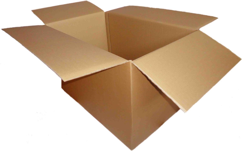 Grands cartons de déménagement-Pack de 5 à 30 cm x 18 cm x 18 cm-Double Paroi 760 mm x 460 mm x 460 mm