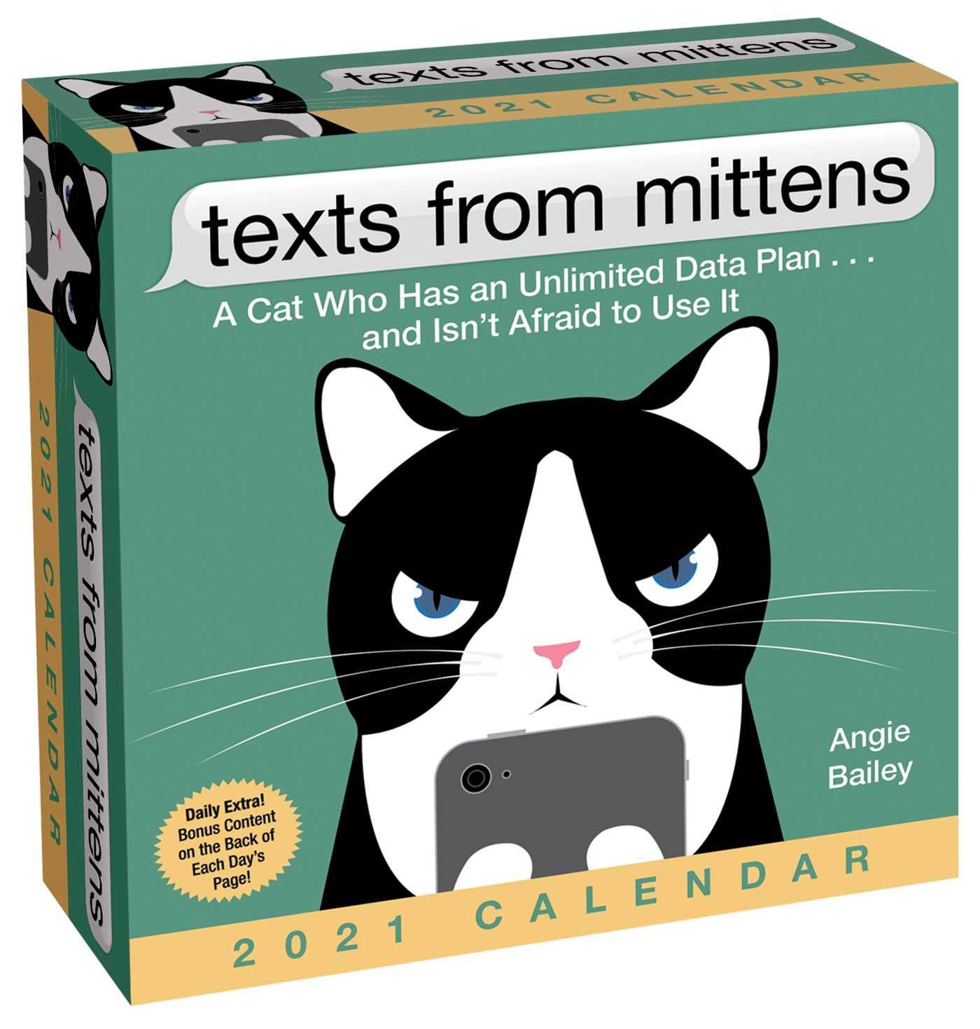 Image for Texts from Mittens 2021 Day-to-Day Calendar