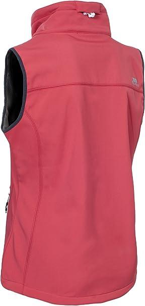 TRESPASS Womens Pink Elbrus Softshell Gilet Bodywarmer Jacket Ladies Small BNWT