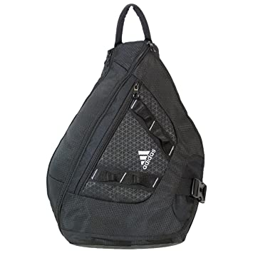adidas Capital Sling Backpack Black, Gym Bags - Amazon Canada 25ca540fce