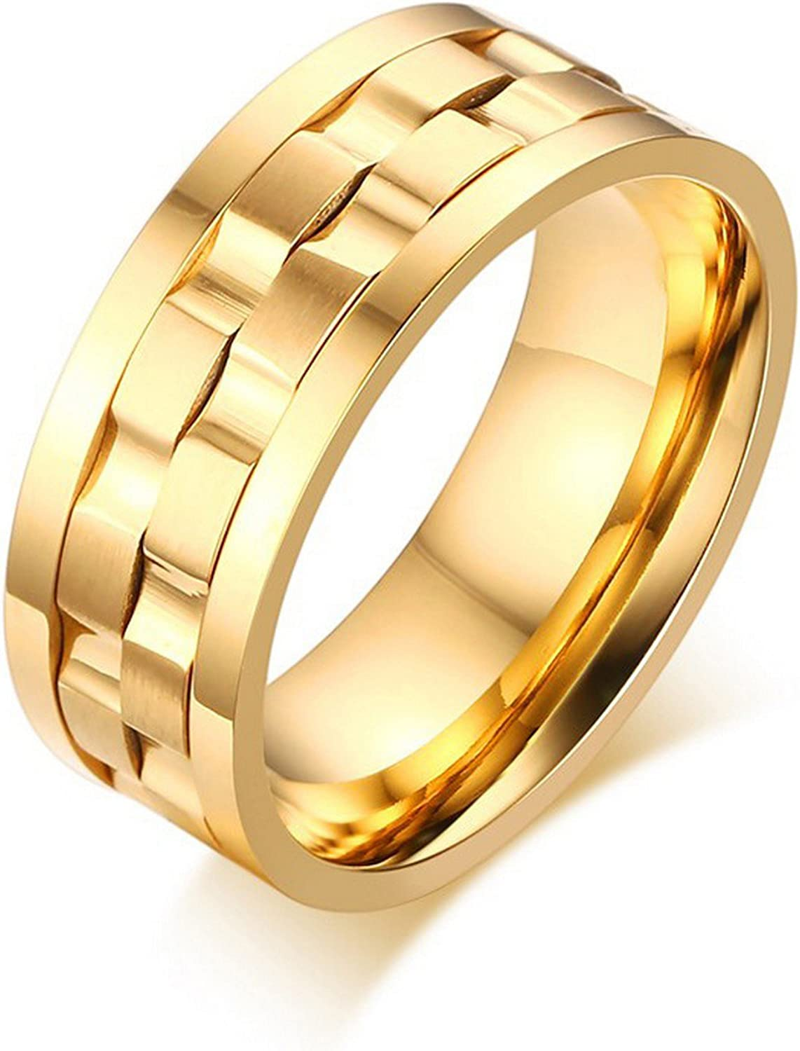 Slyq Jewelry Silver//Gold Color Women//Men Jewelry Classic 3mm engagement rings fashion ring for women
