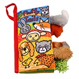 PYD Fashion Baby Soft Cloth Book Toys Rainforest