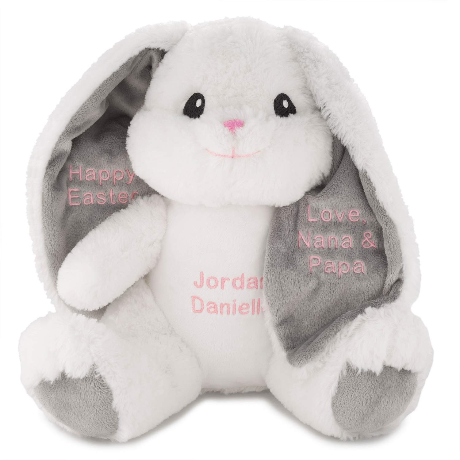 Things Remembered Personalized Bunny Stuffed Animal with Embroidery Included by Things Remembered
