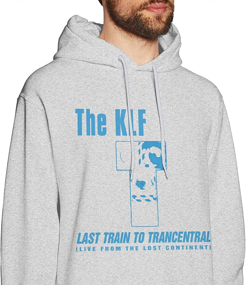 Luomingg Last Train to Trancentral Mens Comfortable Sweaters Gray