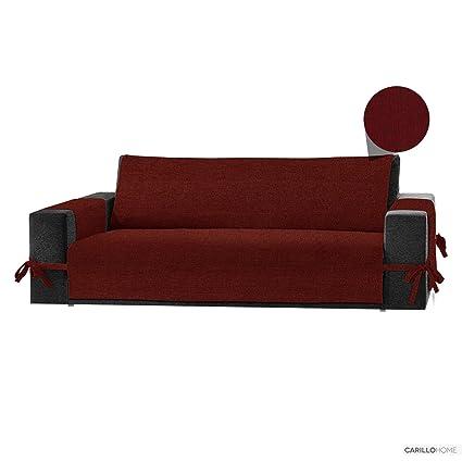 Funda Cubre Sofa Live It Menina - 1 plaza, Burdeos: Amazon ...