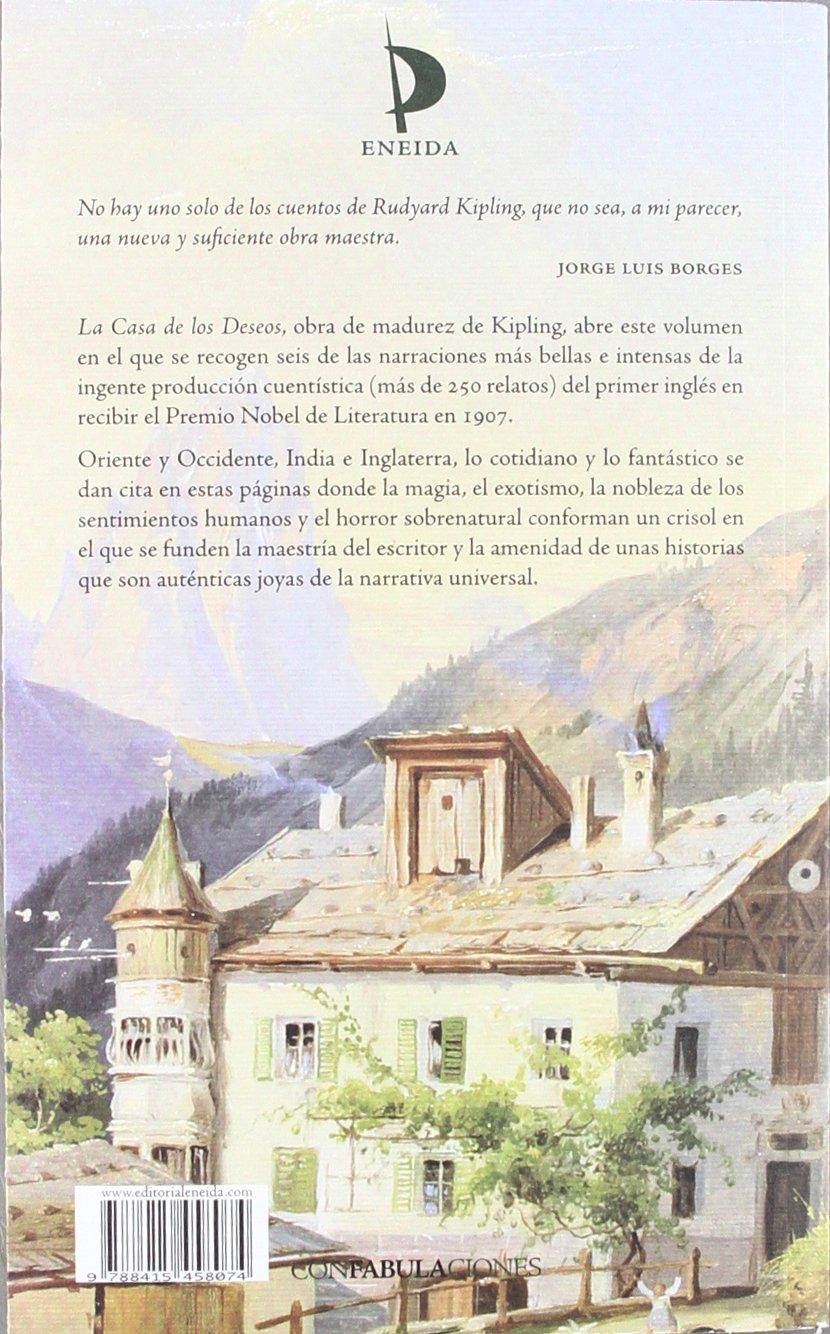 Continental sequía Tumor maligno  La Casa de Los Deseos: Kipling, Rudyard: Amazon.com.mx: Libros