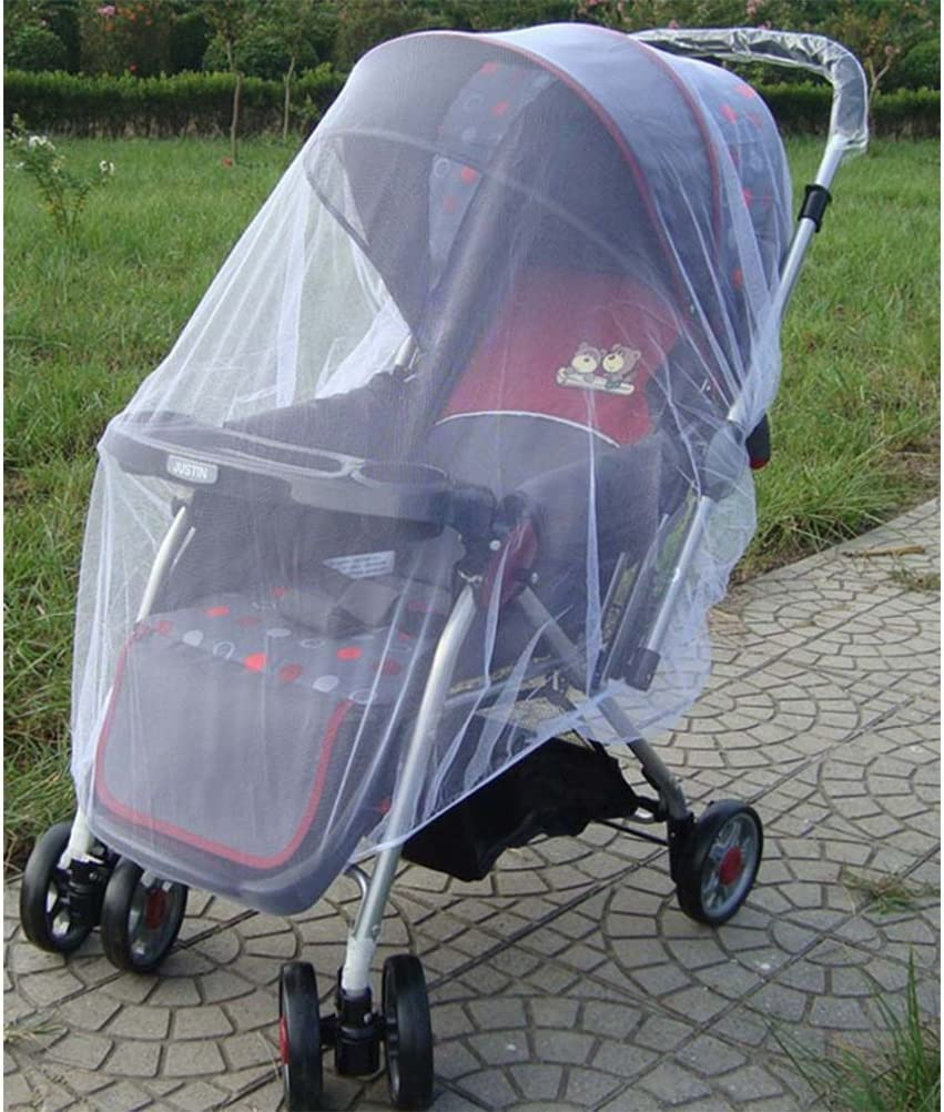 VORCOOL Baby Mosquito Net for Stroller,Premium Infant Bug Protection Net Bug Cover Fit for Cribs Bassinets Playpens Toddler Insect Shield Universal Size