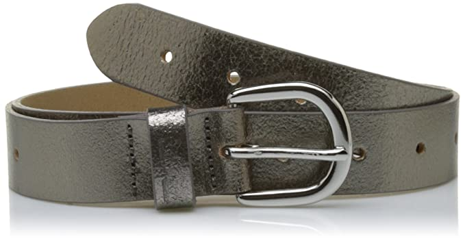 Levi's Perforated Icon Belt, Cintura Donna, Argento (Silver Brillant), ...