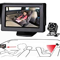 Itomoro Baby Car Mirror, View Infant in Rear Facing Seat with Wide Crystal Clear View,Camera Aimed at Baby-Easily to…