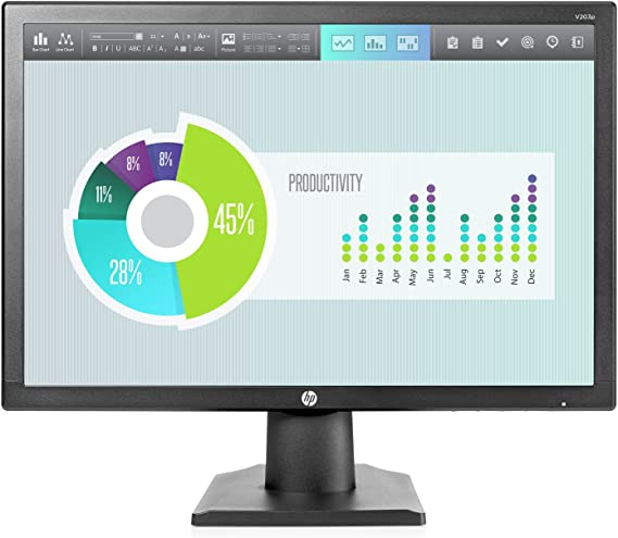 HP V203p LED Display 49,5 cm (19.5