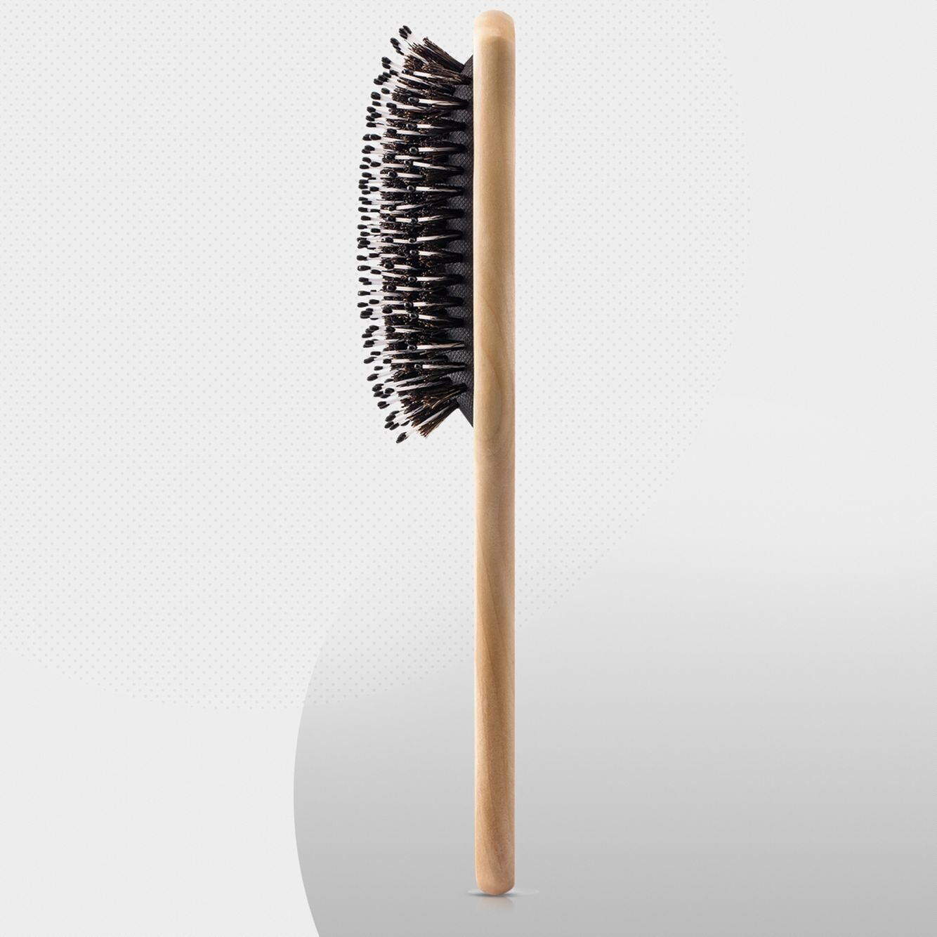 Hair Brush-Boar Bristle Hairbrush for Women Men Long Thick Fine Curly Wavy Dry or Wet Hair,Best Brush Set for Reducing Hair Breakage and Frizzy-Wooden Comb&Giftbox Inclued by Sosoon (Image #6)