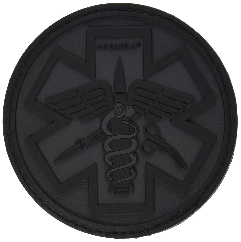 Hazard 4 3D Combattimento Caduceo Paramedico Morale Patch Nero