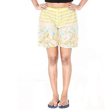 42a9dd8211 Twist Womens/Girls Funky Printed Comfort Night Wear Shorts (15-18 Years)