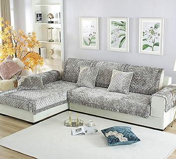 Zzy Felpa de Lujo Muebles Protector y Funda de sofá para el ...