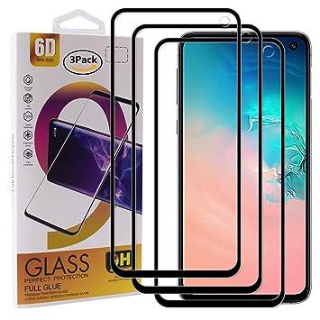 Guran [3 Paquete Protector de Pantalla para Samsung Galaxy S10e ...