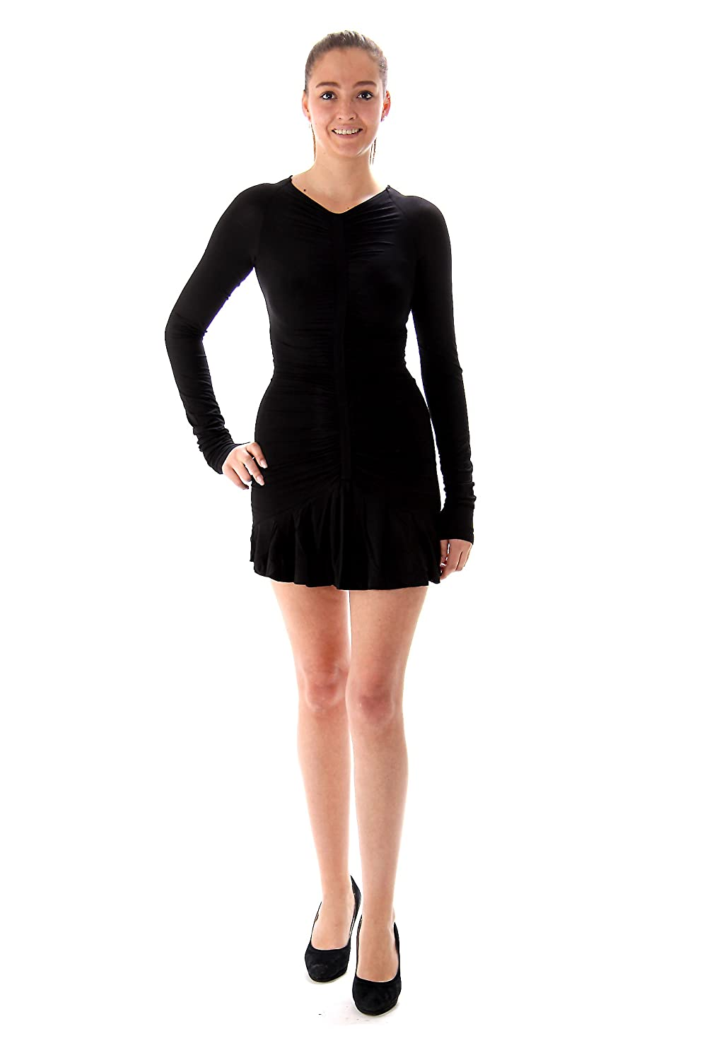 Balmain Pierre Ladies Dress Size 44 Black (IT)