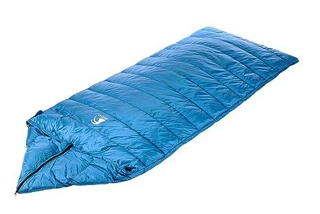 alvivo Ibex Dream Light – Saco de dormir de plumón con cremallera