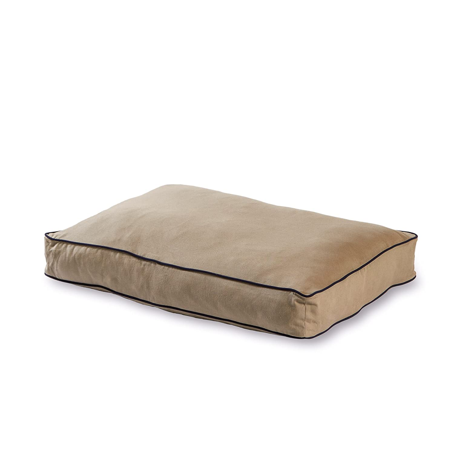 Happy Hounds Casey Rectangle Indoor Outdoor Dog Bed, X-Small 18 x 24 , Greystone