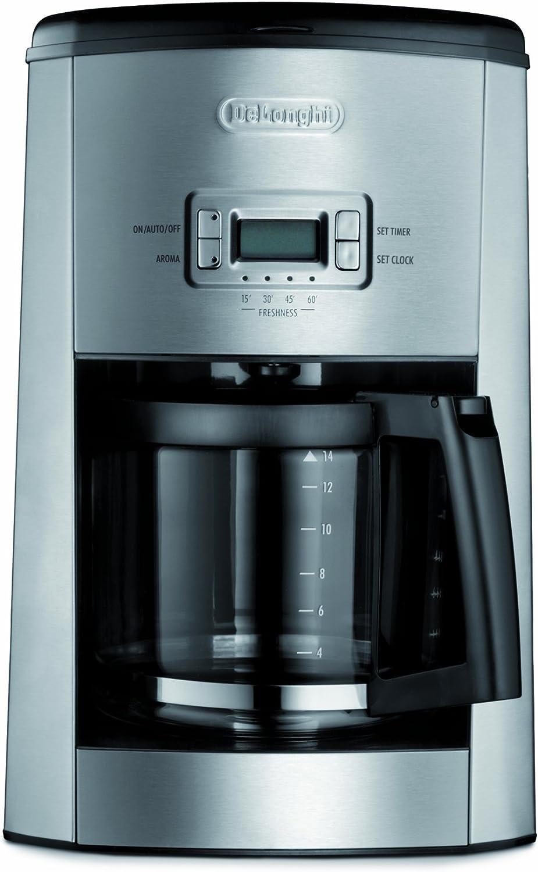 Amazon.com: DeLonghi dc514t 14-cup goteo Cafetera ...