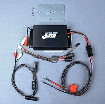 JM Audio 200 Watt 2 Channel Performance Amplifier Kit for 2015 and Newer Harley-Davidson Road Glide models - JMAA-2000HR15