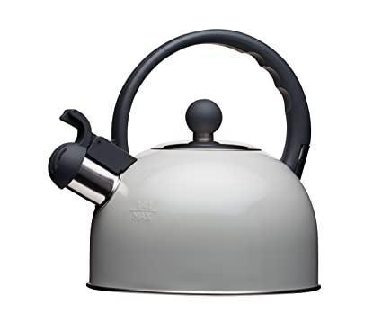 Kitchencraft Living Nostalgia Induction Whistling Stove Top Kettle