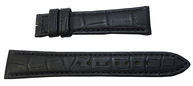 premium selection 356c9 b7a82 19mm 時計バンド グランドセイコー純正ベルト クロコダイル 黒 DEA3AW