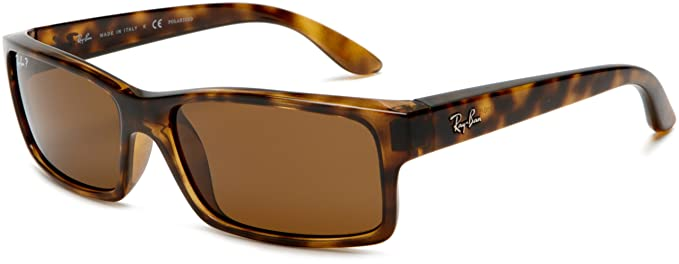 f3de59b3ae0 Ray-Ban RB4151 - LIGHT HAVANA Frame CRYSTAL BROWN POLARIZED Lenses 59mm  Polarized