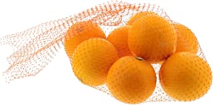 Royal Orange Plastic Mesh Produce and Seafood Bag, 24 Inch, Package of 1000