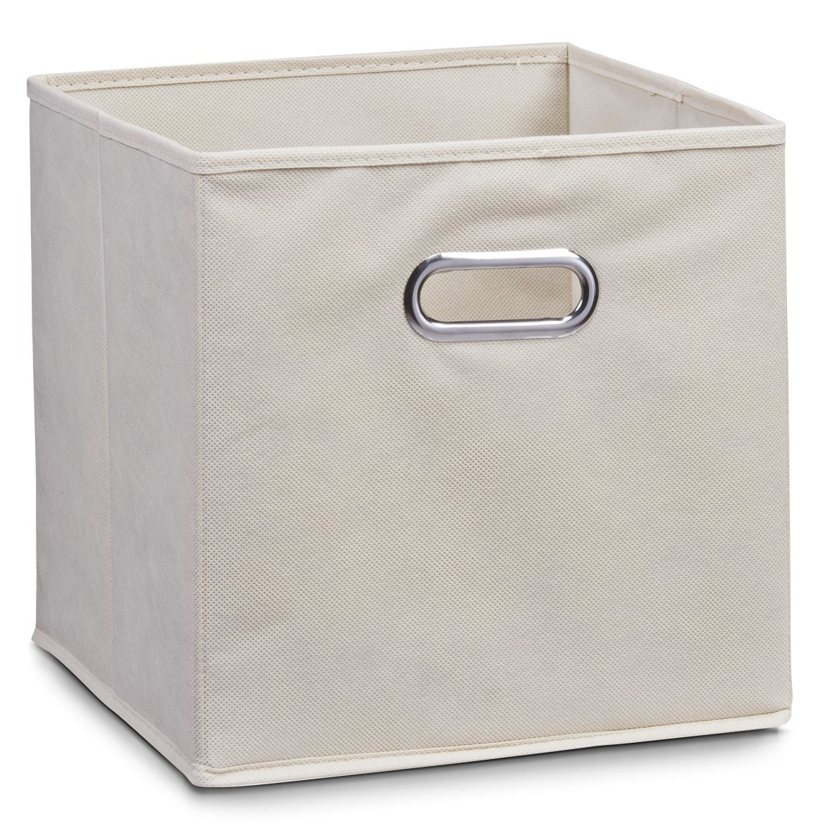 Zeller Storage Box, Grey, Fleece 32x32x32, Fabric 14110