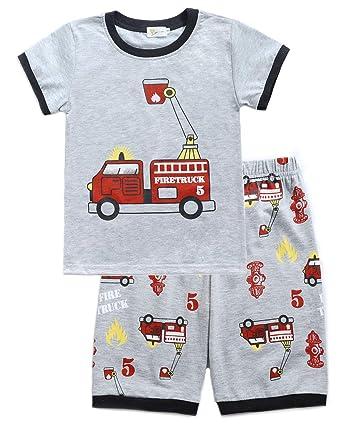 sehr günstig Turnschuhe günstiger Preis Little Hand Schlafanzug Jungen Dinosaurier Bagger ...