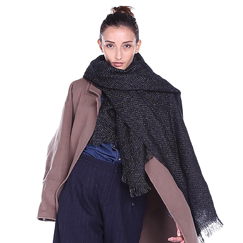Xuanku en la de Manga Larga Vestido Abrigo Fina Lana Woolen Coat