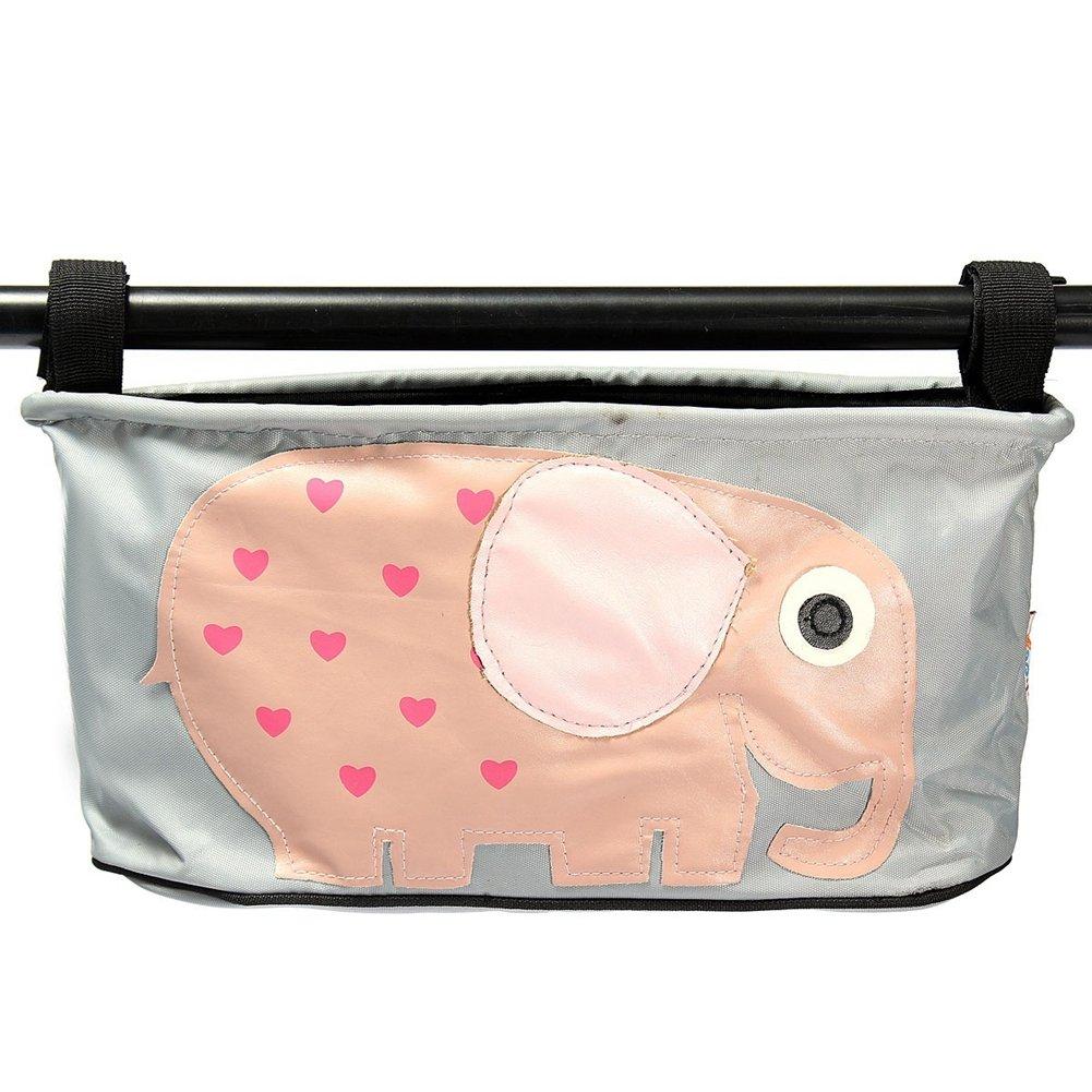 Organiser per passeggino, impermeabile per passeggino Buggy Stroller Storage Bag per il telefono, pannolini, giocattoli e accessori FAVOLOOK UK20180105006