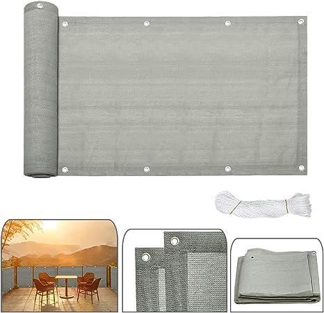 Balkonsichtschutz Balkonbespannung Balkonstoff PVC Windschutz Sichtblende