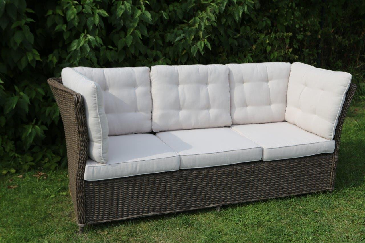 Lounge sofa outdoor günstig  Destiny 3er Loungesofa Palma Vintage braun Lounge Sofa Bank ...
