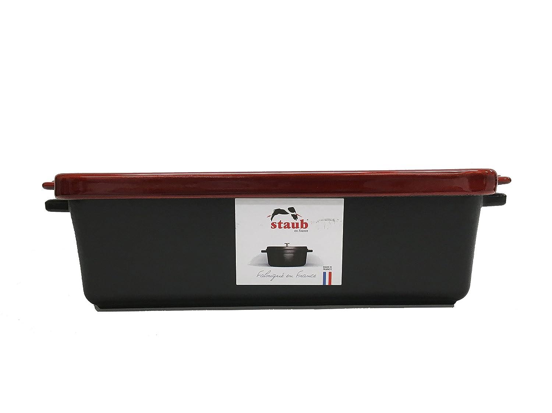 Red Staub Loaf Pan 1.5 Qt.