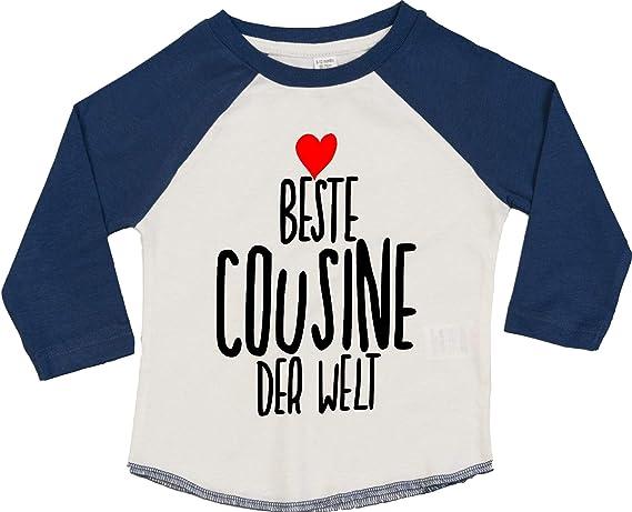 KLEINER FRATZ Babyshirt Kinder Jungen T-Shirt Multicolor Langarm M/ädchen Shirt Kleine Schwester