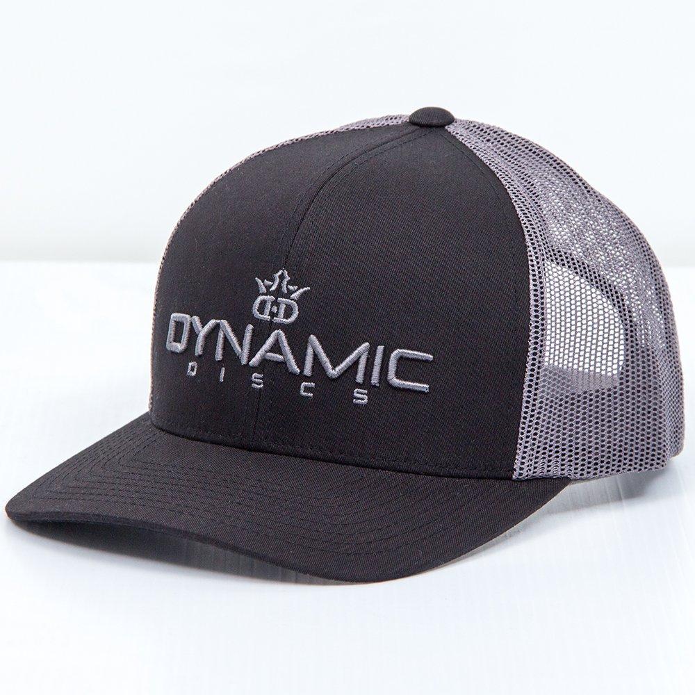 725c760113b Amazon.com   Dynamic Discs Bold Snapback Mesh Disc Golf Hat - Black w Black    Sports   Outdoors