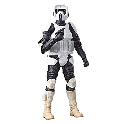 "Star Wars The Black Series Archive Biker Scout 6"" Scale Figure: Toys & Games"