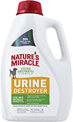 Nature's Miracle Urine Destroyer for Dogs, Light Fresh Scent, Tough on