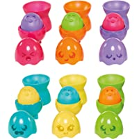 TOMY Toomies Hide & Squeak Eggstension Egg Stackers