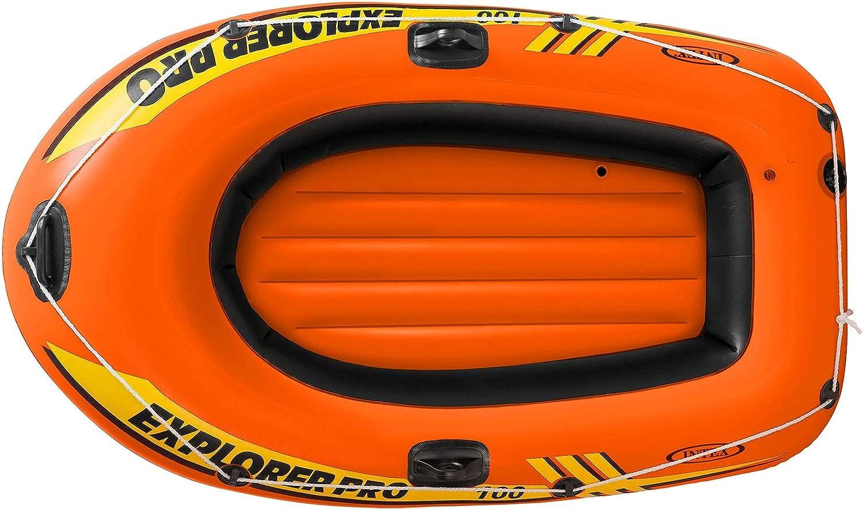 Canotto Gonfiabile Intex 58355 Explorer Pro 100 Gommone mare 160 x 94 cm mshop
