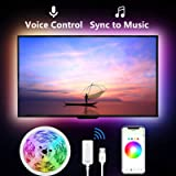 Led Strip Lights for TV, Gosund 9.2Ft TV Led Backlight Music Sync for 32-60 inch. Works with Alexa Google Home, App Remote Co