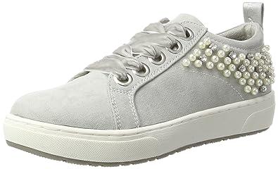 23701, Sneakers Basses Femme, Noir (Black Comb), 36 EUMarco Tozzi